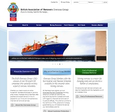 website design and creation - Watford - www.baroverseas.co.uk