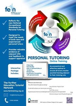 picture:  FETN Tutoring Essentials - online tutoring package leaflet